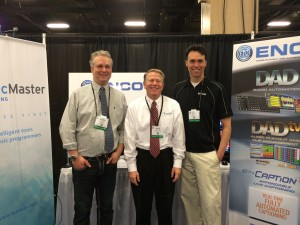 Aaron Shane and Aaron from Enco at NRB