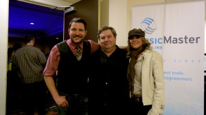 Joe Knapp CEO MusicMaster with Ty Hearndon and Anita Cochran