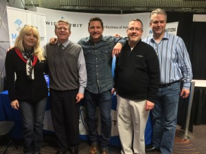Marianne, Shane, Ty Herndon, Jeff Dempsey from WO and Aaaron Taylor at CRS