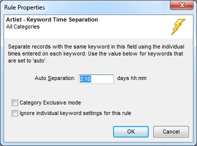 Unique Keyword Separation Values1